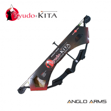 Anglo Arms Kyudo Kita 25Lb Compound Bow with 2 x 30-inch Arrows