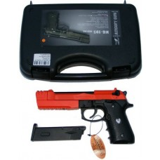 HFC HG193 (M190) Full Metal Airsoft Gas Powered Semi-Automatic BB Gun Pistol with Blow Back 350 FPS
