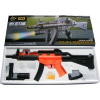 HY015B UMP MP5 Spring Powered Plastic Airsoft BB Gun Rifle 300 FPS